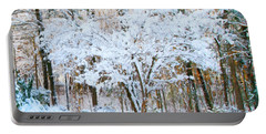 Siebold Viburnum In Snow Portable Battery Charger