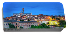 Portable Battery Charger featuring the photograph Siena by Fabrizio Troiani