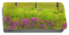 Sierra  Byway Wildflowers Portable Battery Charger