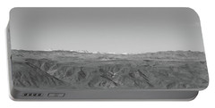 Portable Battery Charger featuring the photograph Sierra Nevada Range From Death Valley by Frank DiMarco