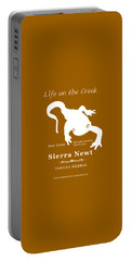 Sierra Newt - White Portable Battery Charger