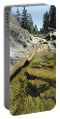 Portable Battery Charger featuring the photograph Sierra Summer Flow by Sean Sarsfield