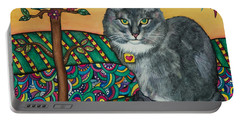 Sierra The Beloved Cat Portable Battery Charger