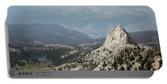 Mountain View Portable Battery Charger by Diane Bohna