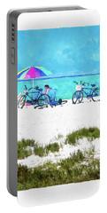 Siesta Key Beach Bikes Portable Battery Charger
