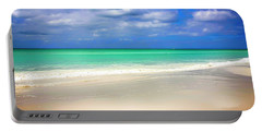 Siesta Key Beach Florida  Portable Battery Charger by Chris Smith