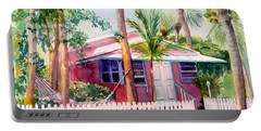 Siesta Key Cottage Portable Battery Charger