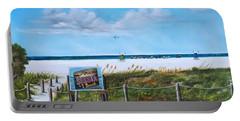 Siesta Key Public Beach Portable Battery Charger