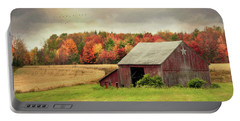 Sights And Sounds Of Fall Portable Battery Charger