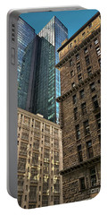 Portable Battery Charger featuring the photograph Sights In New York City - Old And New 2 by Walt Foegelle