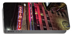Sights In New York City - Radio City Portable Battery Charger