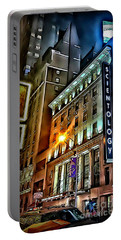 Portable Battery Charger featuring the photograph Sights In New York City - Scientology by Walt Foegelle