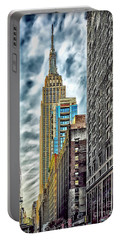 Portable Battery Charger featuring the photograph Sights In New York City - Skyscrapers 10 by Walt Foegelle