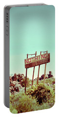Sign For Nothing Portable Battery Charger