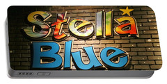 Sign Of Stella Blue Portable Battery Charger