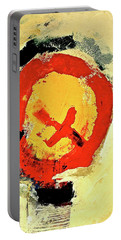 Portable Battery Charger featuring the painting Signal  by Cliff Spohn
