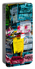 Portable Battery Charger featuring the photograph Signs Everywhere Signs by Colleen Coccia