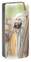 Sikh Farmer Punjab  Portable Battery Charger