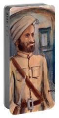 Sikh Soldier British Indian  Army World War  Portable Battery Charger