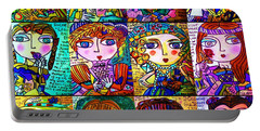Silberzweig - Ladies Of Literature -   Portable Battery Charger