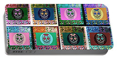 Silberzweig - Sugar Skull Mosaic -  Portable Battery Charger