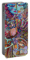 Silberzweig Tree Of Creation Goddess Spirit Portable Battery Charger