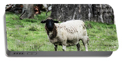 Silence Of The Umm Sheep 1 Portable Battery Charger