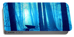 Portable Battery Charger featuring the photograph Silent Forest by Al Fritz