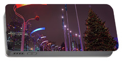 Portable Battery Charger featuring the photograph Silent Night.. by Nina Stavlund
