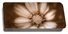 Silent Petals Portable Battery Charger by Trish Tritz