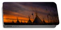 Silent Teepees Portable Battery Charger