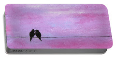 Silhouette Birds Two Portable Battery Charger