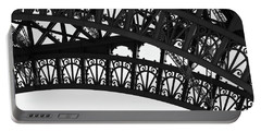 Silhouette - Paris, France Portable Battery Charger
