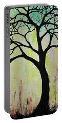 Silhouette Tree 2018 Portable Battery Charger