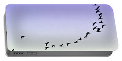 Silhouetted Flight Portable Battery Charger by Brian Wallace