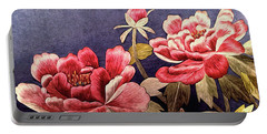 Silk Peonies - Kimono Series Portable Battery Charger