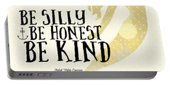 Silly Honest Kind Mermaid V4 Portable Battery Charger