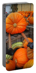 Silly Pumpkin Portable Battery Charger