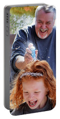 Silly String Attack Portable Battery Charger by John Glass