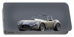 Silver Ac Cobra Portable Battery Charger