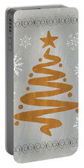 Silver Gold Tree Portable Battery Charger