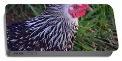 Silver Laced Wyandotte Portable Battery Charger