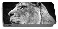 Silver Lioness  Portable Battery Charger