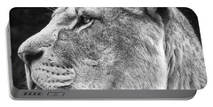 Silver Lioness - Squareformat Portable Battery Charger