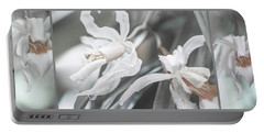 Silver Melody. Triptych Portable Battery Charger