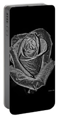 Silver Rose Portable Battery Charger