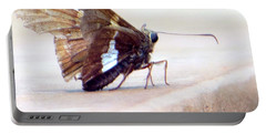 Silver Spotted Skipper Butterfly Portable Battery Charger