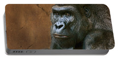 Silverback Stare - Gorilla Portable Battery Charger
