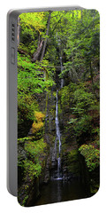 Portable Battery Charger featuring the photograph Silverthread Falls by Raymond Salani III