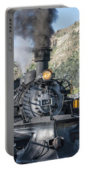 Portable Battery Charger featuring the photograph Silverton Bound by Colleen Coccia